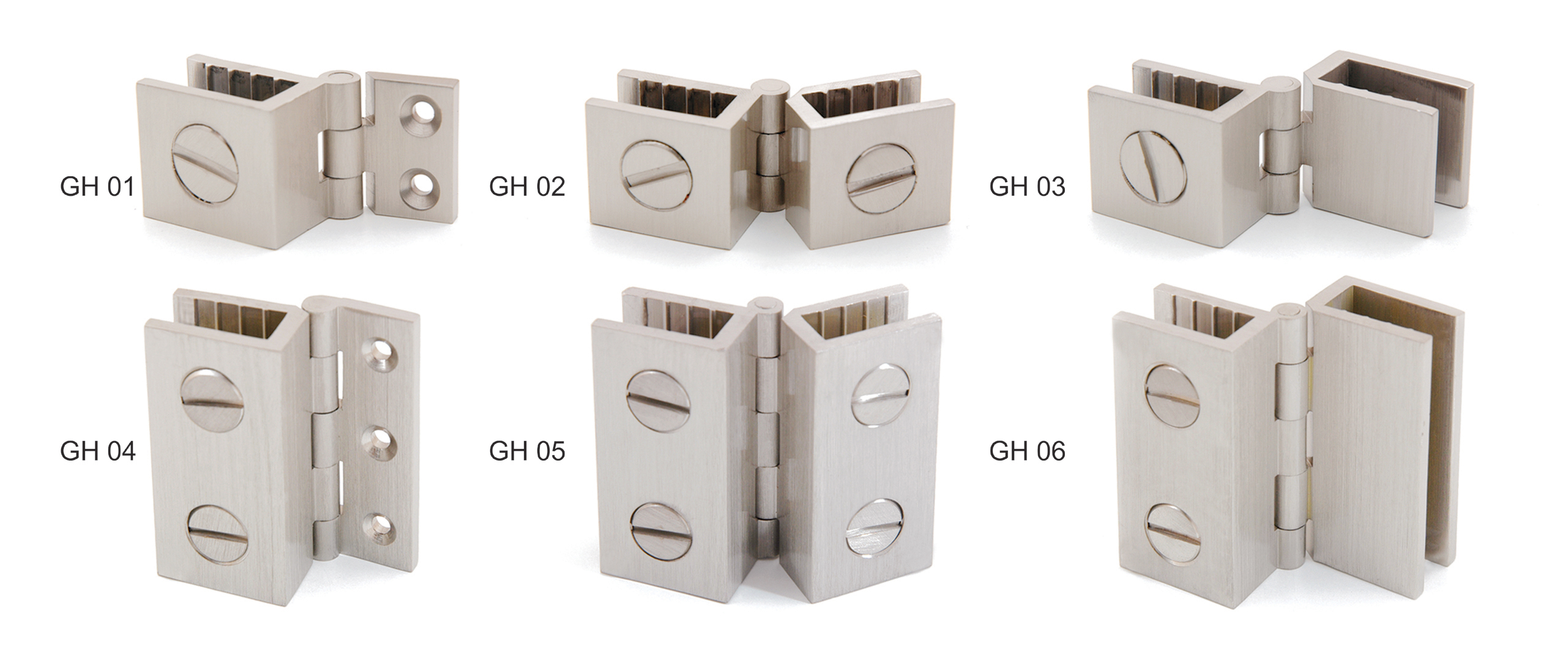 Very Hinges, Double Spring Hinges, Single Spring Hinges, Glass Hinges  QM82